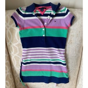 Girls XS(4-5) Tommy dress